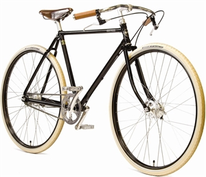 "Pashley Guv'nor 3 Speed sort <BR>- 28"" Klassisk herrecykel TILBUD"
